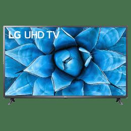 LG UN73 127cm (50 Inch) 4K Ultra HD LED Smart TV (Built-in Alexa & Google Assistant, 50UN7350PTD, Black)_1