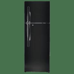 LG 335 Litres 3 Star Frost Free Inverter Double Door Refrigerator (Convertible Plus, GL-T372JES3.EESZEBN, Ebony Sheen)_1