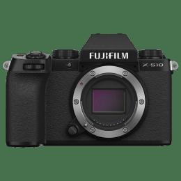 Fujifilm X Series 26.1MP Mirrorless Camera (X-Trans CMOS 4 Sensor, X-S10, Black)_1