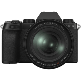 Fujifilm X Series 26.1MP Mirrorless Camera (XF 16 - 80mm Lens, X-Trans CMOS 4 Sensor, X-S10, Black)_1
