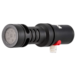 Rode VideoMic Me-L Mobile Mount Wired Condenser Microphone (No Battery Required, VMML, Black)_1