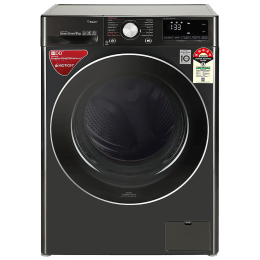 LG 9 kg 5 Star Fully Automatic Front Load Washing Machine (AI Direct Drive Technology, FHV1409ZWB.ABLQEIL, Black Steel)_1