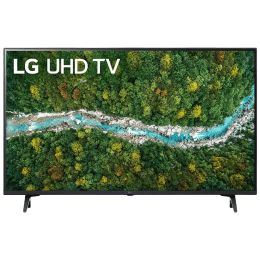 LG 139cm (55 Inch) Ultra HD 4K LED Smart TV (AI ThinQ, 55UP7750PTZ, Black)_1