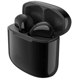 Edifier TWS 200 In-Ear Active Noise Cancellation Truly Wireless Earbuds With Mic (Bluetooth 4.0, 24 Hours Playback Time, Black)_1