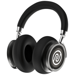 Noise Defy On-Ear Active Noise Cancellation Wireless Headphone With Mic (Bluetooth 5.0, IPX5 Water Resistance, Black)_1