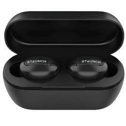 Staunch Boom 150 In-Ear Truly Wireless Earbuds with Mic (Bluetooth 4.0, HD Sound with Deep Bass, Black)_1