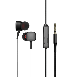 Staunch Star 210 In-Ear Earphone with Mic (Pure Bass Sound, Black)_1