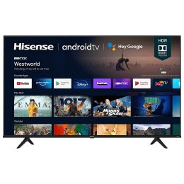 Hisense A6GE 108cm (43 Inch) Ultra HD 4K LED Android Smart TV (Multi Channel Surround Sound, 43A6GE, Black)_1