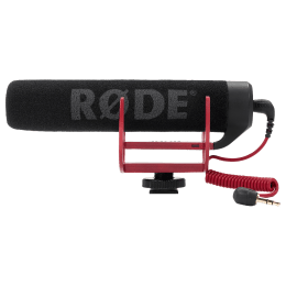 RODE VideoMic GO Handheld Wired Condenser Microphone (Rugged Reinforced ABS Construction, Black)_1