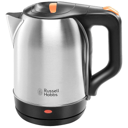 Russell Hobbs 1.8 Litres 1500 Watts Electric Kettle (Detachable Base, Auto Cut Off, RJK1518IN, Silver)_1