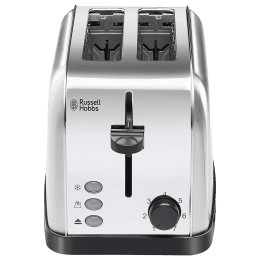 Russell Hobbs 18780 850 Watts 2 Slice Automatic Pop-Up Toaster (Variable Browning Control, Silver)_1