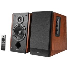 Edifier 2.0 Channel 66 Watts Bookshelf Speaker (Eagle Eye Tweeter, R1700BTs, Wood Grain)_1