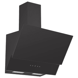 KAFF 1000 m³/hr 60 cm Wall Mount Chimney (Heavy Duty Baffle Filter, NOVA TC 60, Black)_1