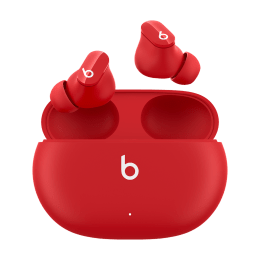 Beats Studio Buds In-Ear Truly Wireless Earbuds with Mic (Bluetooth, MJ503ZM/A, Red)_1