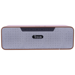 Trovo Wooden 8 Watts Portable Bluetooth Speaker (Wireless Music Streaming, TBS-51, Brown)_1