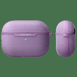 Spigen Urban Fit PC & Fabric Full Cover Case For AirPods Pro (Scratch-Free, ASD00574, Purple)_1