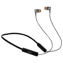 Detel Torque In-Ear Noise Isolation Wireless Earphone with Mic (Bluetooth 5.0, High Quality Stereo Sound, Grey)_1