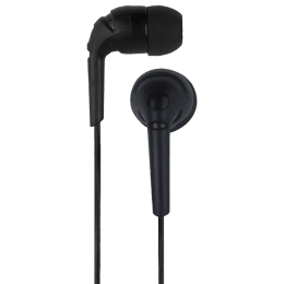 Detel D6 In-Ear Wired Earphone with Mic (Double Press to Change Track, Black)_1