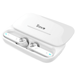 Trovo In-Ear Noise Isolation Truly Wireless Earbuds with Mic (Bluetooth 4.1, Water Resistant, REP-36, White)_1