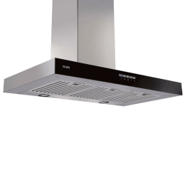 Glen 1000 m³/hr 60 cm Wall Mount Chimney (Timer Function, Cooker Hood 6052 T, Grey)_1