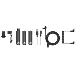 Sennheiser XSW-D Mic For DSLR Camera (75M Range In Optimal Conditions, 508490, Black)_1
