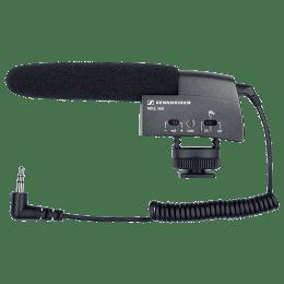 Sennheiser MKE 400 Mic For DSLR Camera (Integrated Wind Protection, 508898, Black)_1