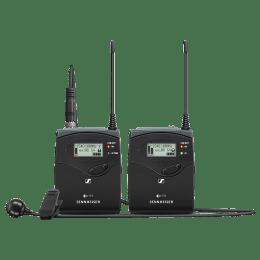 Sennheiser EW 122P G4-A Mic For DSLR Camera (Wideband FM, 507621, Black)_1