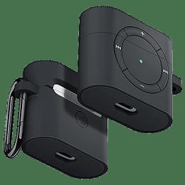 Spigen Classic Shuffle Full Cover Case For Apple Airpods (2020) (Retro-Inspired Design, ASD01992, Charcoal)_1