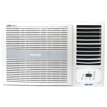 Voltas 1.5 Ton 5 Star Window AC (185 LZH, Copper Condenser, White)