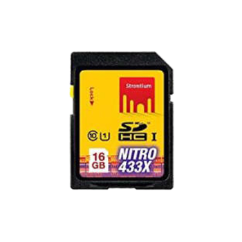 Strontium 16 GB SDHC Memory Card (SRN16GSDU1, Black)_1