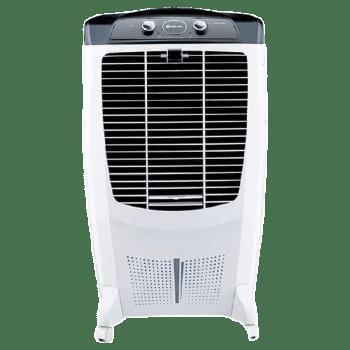 Bajaj 67 Litres Room Air Cooler (Honeycomb Hexacool Pads, DMH67, White)_1