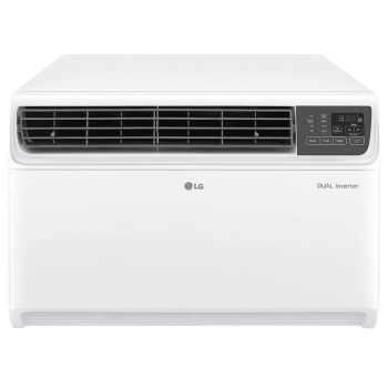 LG 1 Ton 5 Star Inverter Window AC (JW-Q12WUZA, Copper Condenser, White)