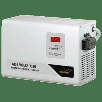 V-Guard Voltage Stabilizer (AD4 Volta 3030, White)_1