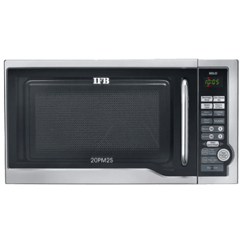 IFB 20 Litres Solo Microwave Oven (20PM2S, Silver)_1