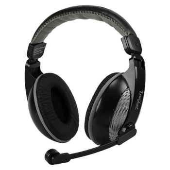 Amkette Boomer Stereo Sound Gaming Headset (Grey)_1