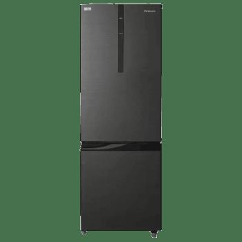 Panasonic 296 L 2 Star Frost Free Double Door Refrigerator (NR-BR307RKX1, Black)_1
