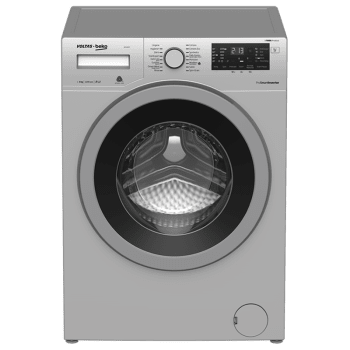 Voltas Beko 8 kg Fully Automatic Front Loading Washing Machine (WFL80, Grey)_1
