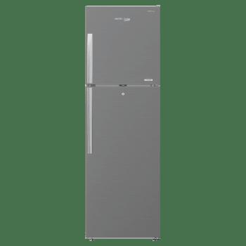 Voltas Beko 250 Litres 2 Star Frost Free Inverter Double Door Refrigerator (Store Fresh+, RFF273IF, Silver)_1