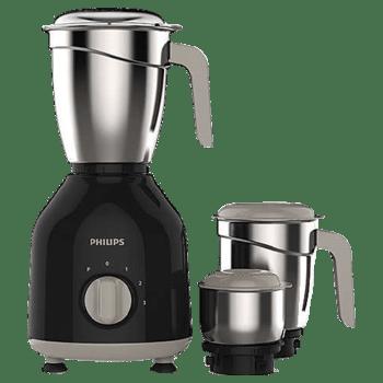 Philips 750 Watt Mixer Grinder (HL7756/00, Black)