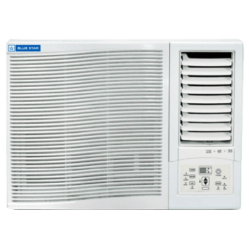 Blue Star 0.75 Ton 3 Star Window AC (White, 3WAE081YDF, Copper Condenser)