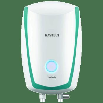 Havells Instanio 3 Litres Instant Water Geyser (4500 Watts, GHWAIBPWB003, White/Blue)_1