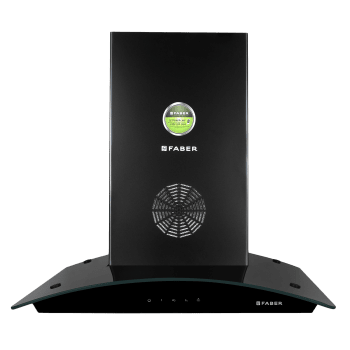 Faber Feel 3D Plus Max T2S2 1350 m³/hr 60cm Wall Mount Chimney (3 Layer Baffle Filters, 325.0629.064, Black)_1