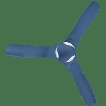 Havells Stealth Air Cruise 132cm Sweep 3 Blade Ceiling Fan (Dust Resistant, FHCSBSTIBL52, Indigo Blue)_1