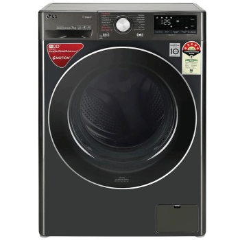 LG 7 kg 5 Star Fully Automatic Front Load Washing Machine (AI Direct Drive Technology, FHV1207ZWB, Black Steel) 1