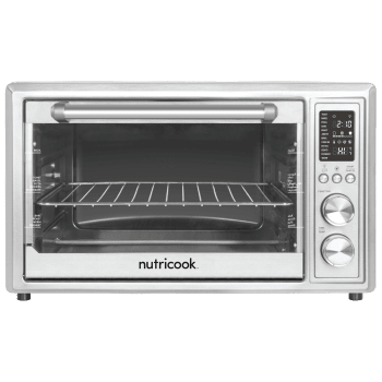 Nutricook by Nutribullet 30 Litres Convection Oven (Smart Air Fryer, SAFO30, Silver)_1