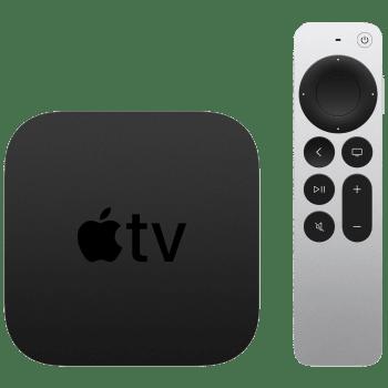 Apple TV 4K 32GB Media Streaming Box (IR Receiver, MXGY2HN/A, Black) 1
