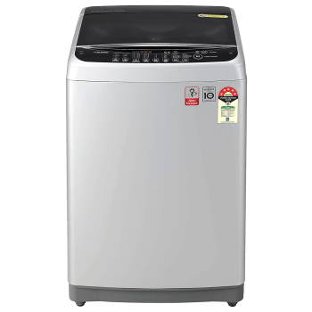 LG 8 kg 5 Star Fully Automatic Top Load Washing Machine (Smart Diagnosis, T80SJSF1Z.ASFQEIL, Middle Free Silver) 1