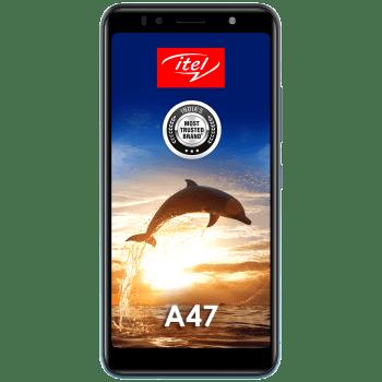 Itel A47 (32GB ROM, 2GB RAM, L5505, Ice Lake Blue) 1