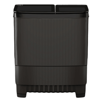 Godrej Edge Ultima 8 kg 5 Star Semi-Automatic Top Load Washing Machine (Toughened Glass Lids, WSEDGE ULTS 80 5.0, Crystal Grey) 1