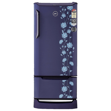Godrej 225 L 4 Star Direct Cool Single Door Inverter Refrigerator (RD Edge Duo 225 PD, Erica Blue)_1